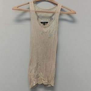Delicate tank by Naked Zebra size small